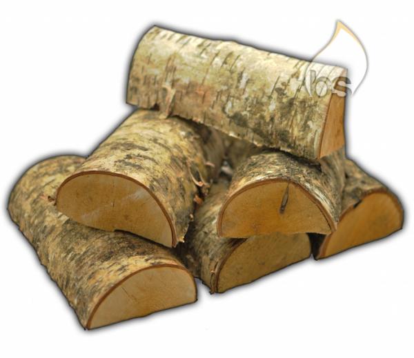 SAARSTARK Brennholz Kaminholz Birke etwa 3,0 - 3,2 SRM/Box