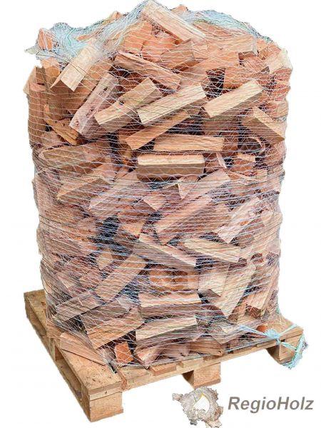 Brennholz BUCHE Wickelbox waldfrisch ohne Rinde